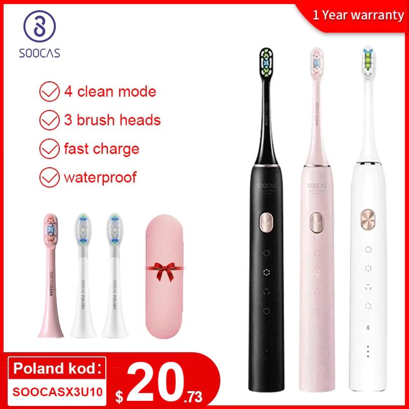 Soocas X3U Elektische Zahnbürste mit Sonic-Technologie