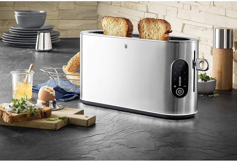 [ebay] WMF Lumero Toaster Langschlitz (Brötchenaufsatz,2 Scheiben,XXL,einseitiges Toasten,1-Scheiben-Taste,10 Bräunungsstufen,Edelstahl)