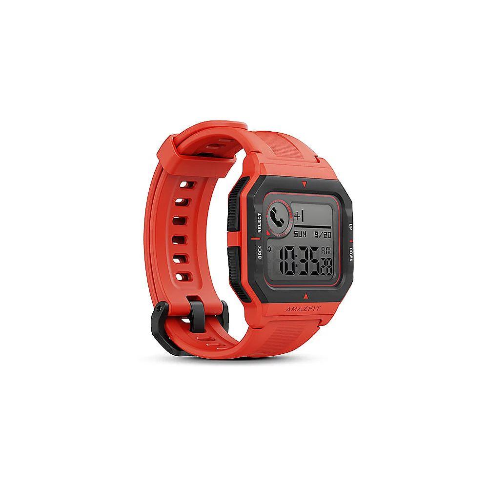 Amazfit Neo Smartwatch rot HF-Sensor Fitnesstracker [Cyberport]