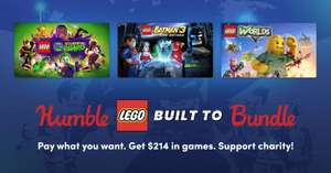 Humble Lego Built To Bundle (Steam) ab 1€