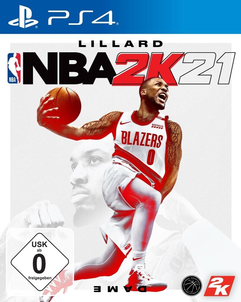 NBA 2K21 Ps4 Playstation 4 für 15€ + VSK