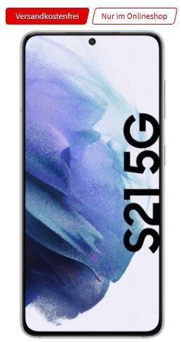 Samsung Galaxy S21 5G 128GB alle Farben im Vodafone MD green LTE 10GB für 29,99€ monatlich, 1€ einmalig + 100€ Samsung Pay Guthaben