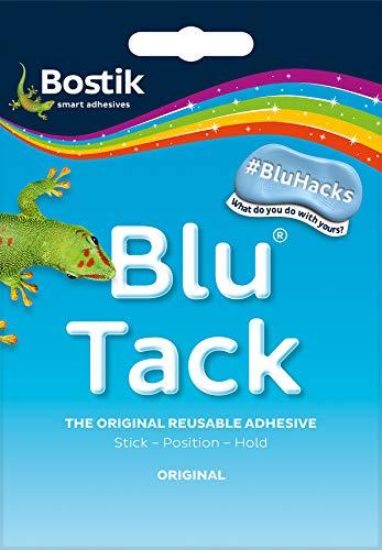 Bostik Blu Tack Handy, 60 g Reinigungs/Befestigungsknete (Prime!)