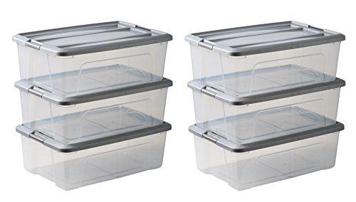 [Amazon.it] Amazon Basics 103435 Aufbewahrungsboxen 'New Top Box' 30 L