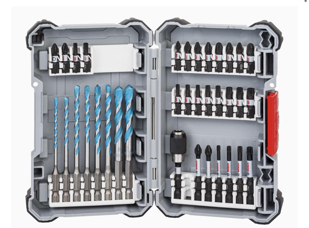 [Prime] Bosch Impact Control Multi Construction Bohrer- und Schrauberbit-Set, 35-teilig