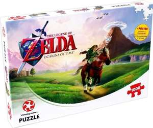 The Legend of Zelda - Ocarina of Time Puzzle (1000 Teile, inklusive Poster)