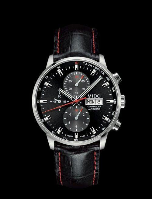 Mido Commander II Automatikuhr Chronograph - 42,5mm - Mido Caliber 60 (Valjoux 7753) - Swiss made