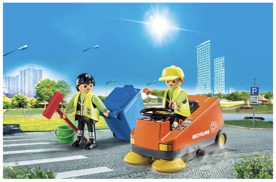 [Lokal Mönchengladbach Müller] Playmobil City Life 70203: Kehrmaschine