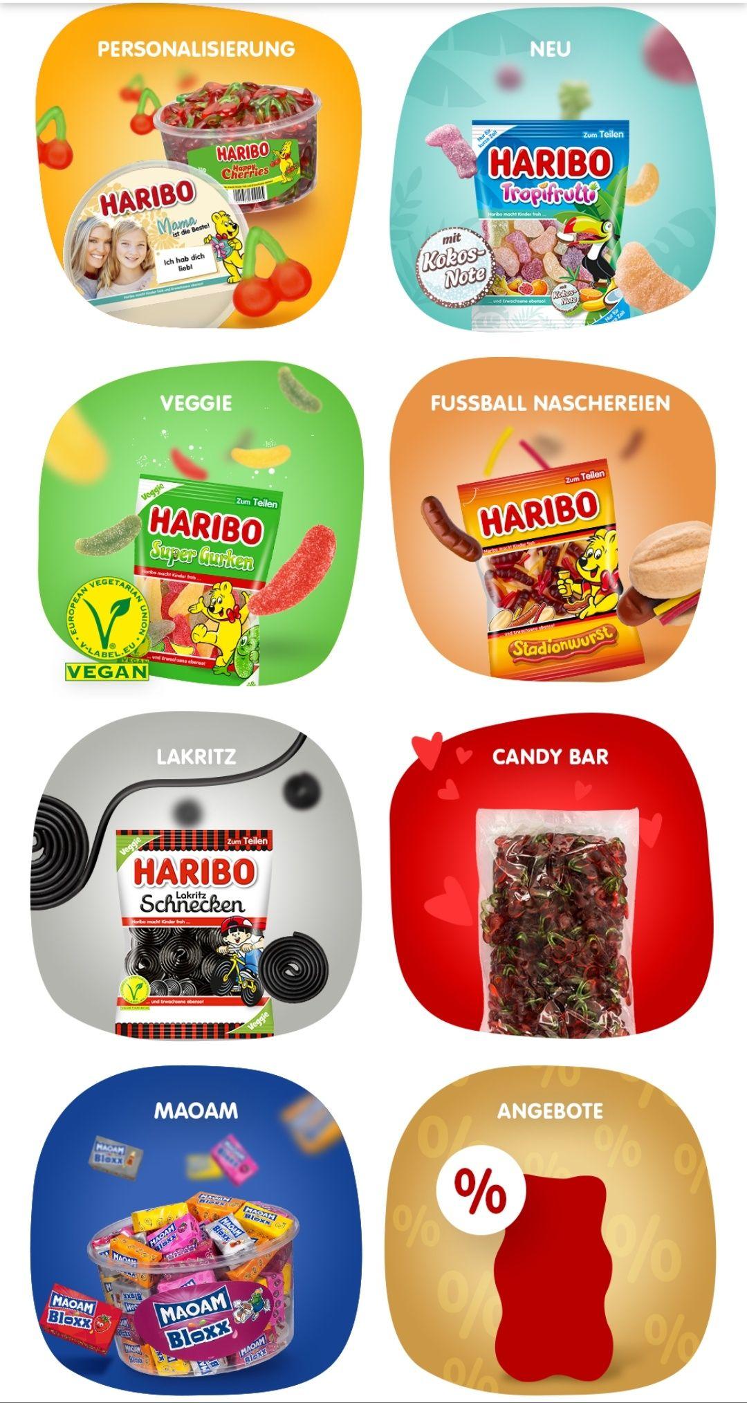 [Paydirekt+HARIBO] Gratis Personalisierung und Versand ab 20€