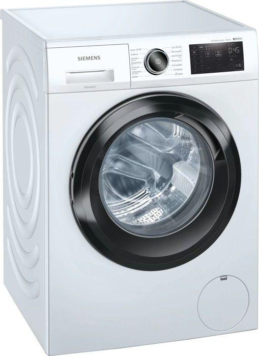 Siemens iQ500 WM14UR5EM 9kg Waschmaschine (1400Upm, A+++ bzw C, Mengenautomatik, Kindersicherung, Nachlegefunktion) - Lieferung Wunschort