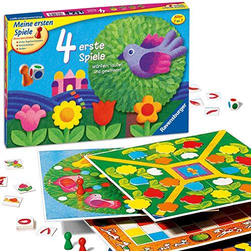[amazon.co.uk] Brettspiel/Gesellschaftsspiel Ravensburger 4 erste Spiele (Klassiker, Spielesammlung ,ab 3 Jahren, 2-6 Spieler, Farbwürfel)