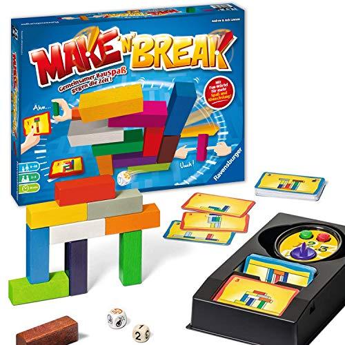 [amazon.co.uk] Brettspiel/Gesellschaftsspiel Ravensburger Make 'n' Break (für die ganze Familie, ab 7 Jahren, 2-5 Spieler,160 neue Aufgaben)