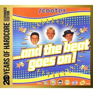 NEUER PREIS 8,49 € Amazon Prime  - Scooter ...and - the Beat Goes on! 20 Years of Hardcore [Box-Set] 3 CDs -