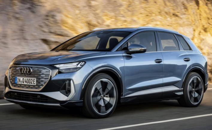 Privatleasing: Audi Q4 e-tron (Bafa) / 170 PS, 55 kWh (konfigurierbar) für 249€ monatlich - LF:0,65
