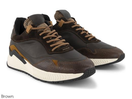 DenBroeck Herren Leder-Sneaker Baxter St. (Größe 40 - 45) [iBOOD]