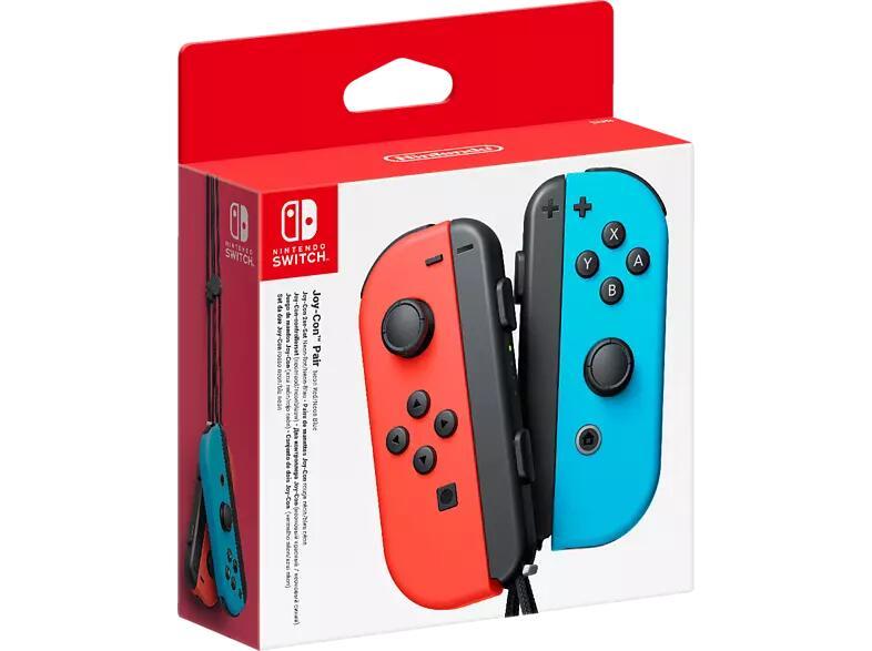 Nintendo Switch Joy-Con 2er-Set Controller Neon-Rot/Neon-Blau