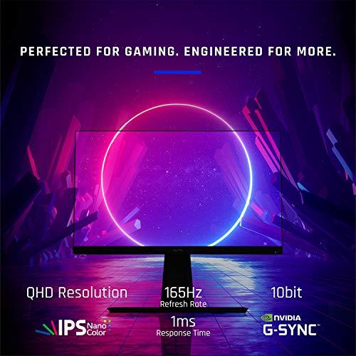 Amazon Viewsonic Elite XG270QG 27 Zoll 165Hz WQHD Gaming Monitor