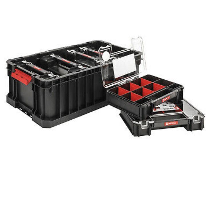 Werkzeugkoffer Qbrick System Two Box x 6 Organizer Multi Werkzeugkiste