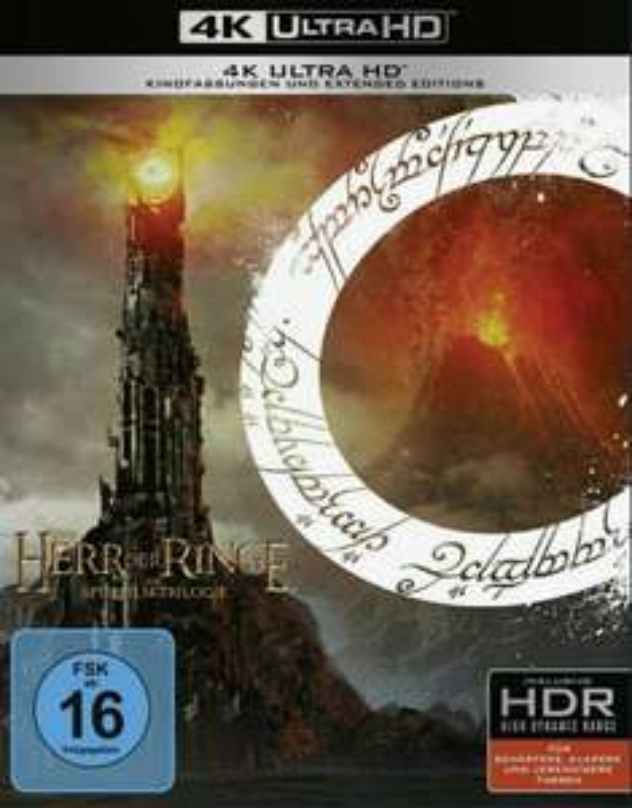 Der Herr der Ringe 4K UHD BluRay [Amazon]