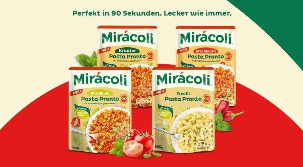 [Rewe] Miracoli Pasta Pronto mit Coupies Cashback oder Coupon für (effektiv) 1,09€