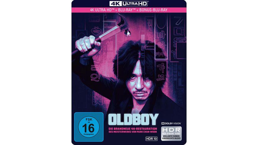Abholung Müller Sonntagsknüller: Oldboy [4K UHD + Blu-ray] 4-Disc Limited Edition Steelbook für 16,99€