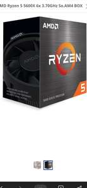 Mindstar AMD Ryzen 5 5600x Box inklusive Kühler Prozessor sofort verfügbar