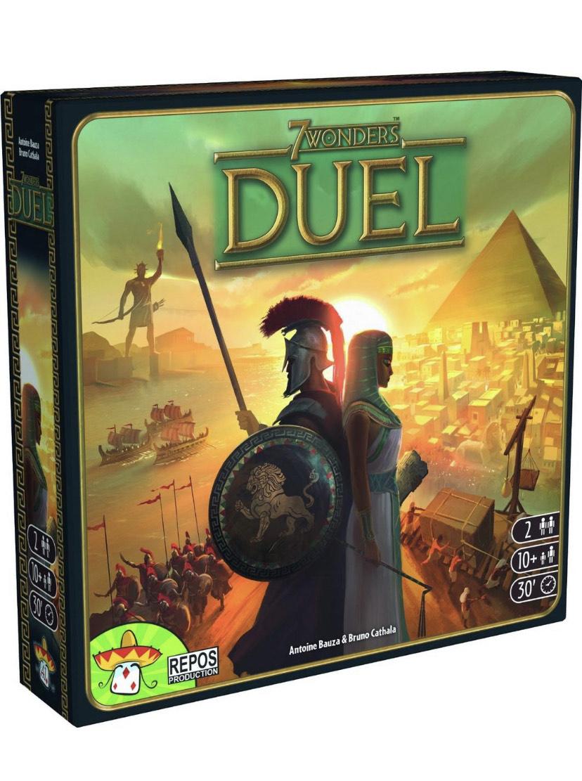 7 Wonders Duel - Zwei Personen Brettspiel [Newsletter Gutschein]