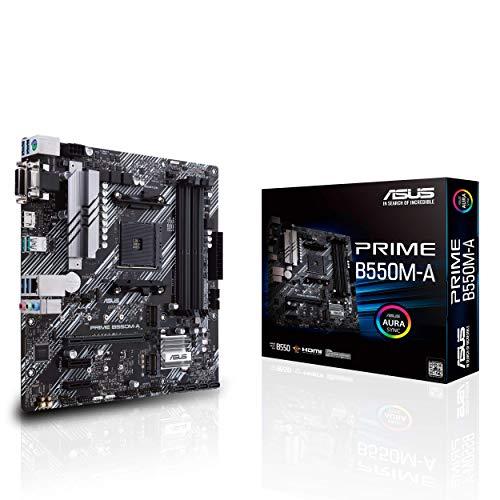 Asus Prime B550M-A Mainboard Micro ATX - Sockel AM4, 4x DDR4 (Amazon)