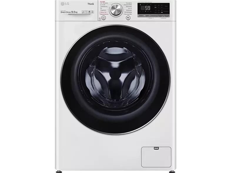 LG F4WV510S0E Waschmaschine effektiv durch Cashback für 489,00 € (10,5 kg, 1360 U/Min., Neue Energieklasse B, Dampf, App-Steuerbar)