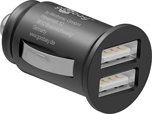 Goobay 44177 2-Port KFZ Dual USB Ladegerät mit LED-Licht für 2,18€ mit Prime