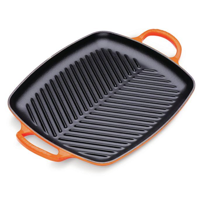 Le Creuset Gusseisen Grillplatte / Grillpfanne 30cm (Made In France | 30 Jahre Herstellergarantie | 5% Shoop möglich)