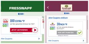 30fach Payback bei Alnatura & 100 Extra Punkte bei Fressnapf ab 15€ mit Payback GO