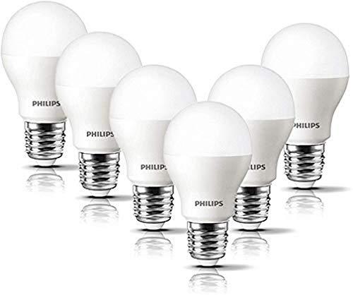 6er Pack Philips LED Lampe 8 W ersetzt 60 W, E27, warmweiß (2700K), 806 Lumen, matt für PRIME Kunden