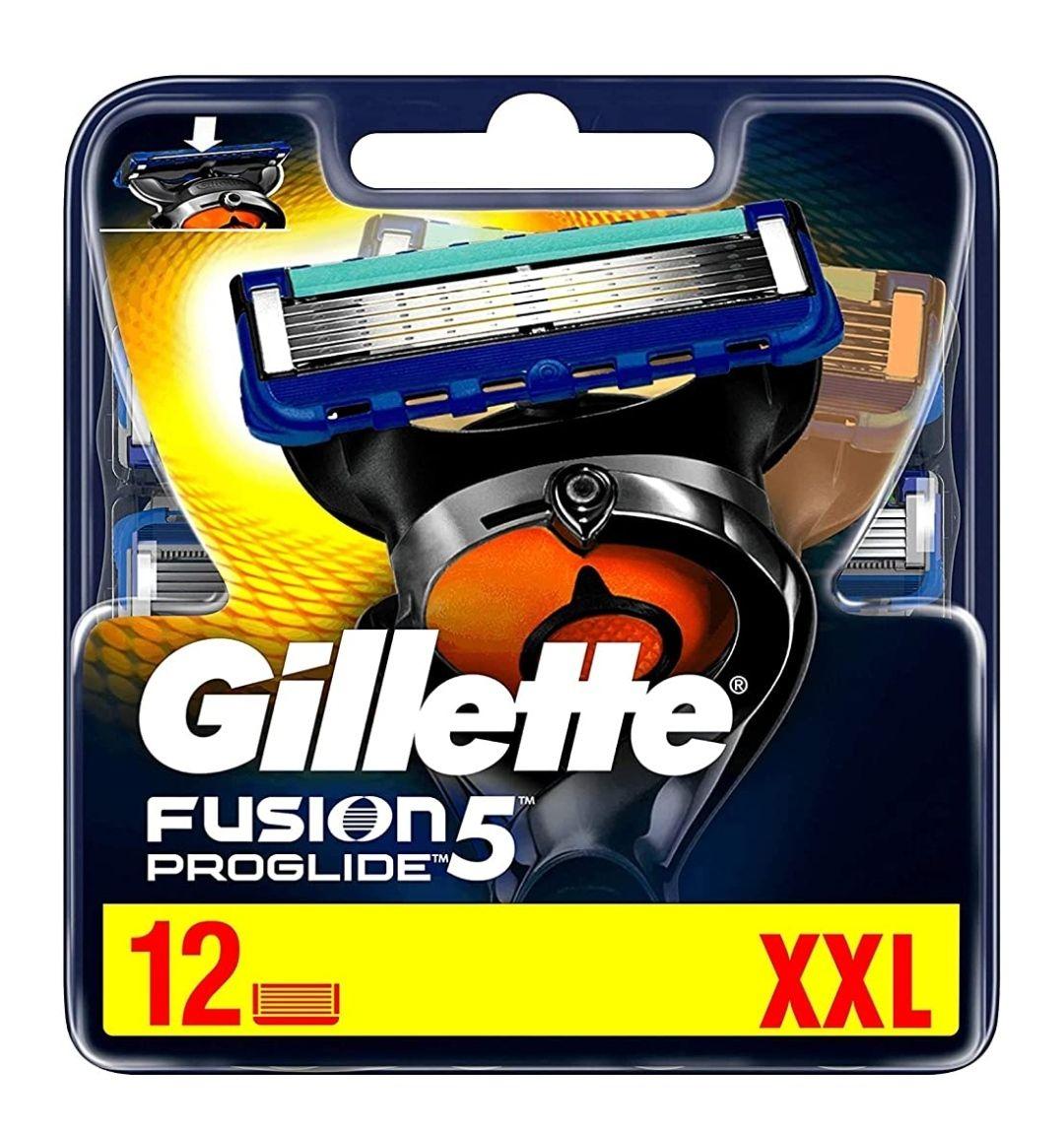 Gillette Fusion 5 Proglide 12 Stk. Rasierklingen bei Amazon im Sparabo für ALLE für 23,97€
