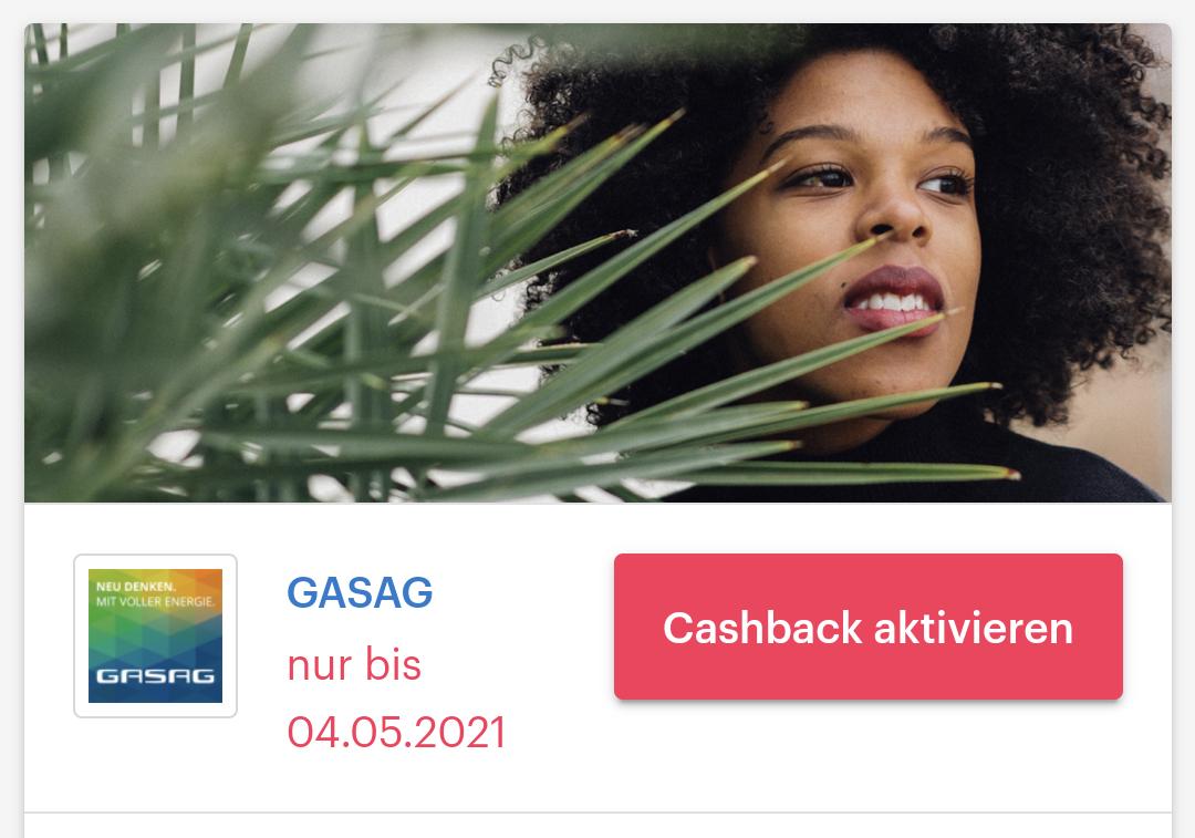 [ Shoop | GASAG] 70€ Cashback + Bis zu 200€ Bonus auf Strom- & Gasverträge