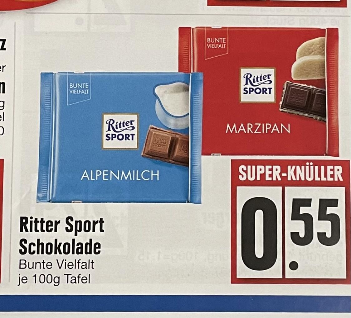[Lokal] Ritter Sport - Bunte Vielfalt bei EDEKA Wörth/Isar