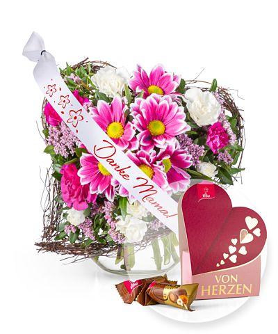 Blumengeschenke und Sträuße mit 5 € Rabatt versenden bei REWE Blumen
