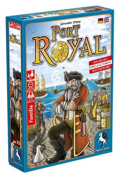 Port Royal Kartenspiel (2-5 Spieler, ab 8 Jahren, BGG 7.1) [Thalia KultClub]