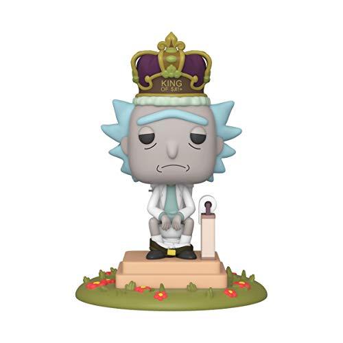 Funko Pop! Animation: Rick & Morty-King of S#!* - 14,91 (Amazon prime)