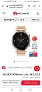 Huawei GT2 Rose Gold Smart Watch