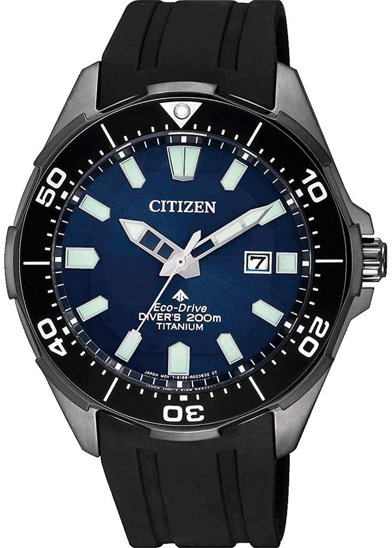 Citizen Diver Promaster Marine Eco-Drive Super-Titanium Solar-Uhr (44 mm, Titangehäuse, Datumsanzeige, Kristallglas, wasserdicht bis 20 bar)