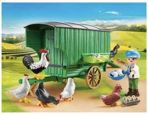 [Müller – Filiallieferung] Playmobil Country 70138: Mobiles Hühnerhaus