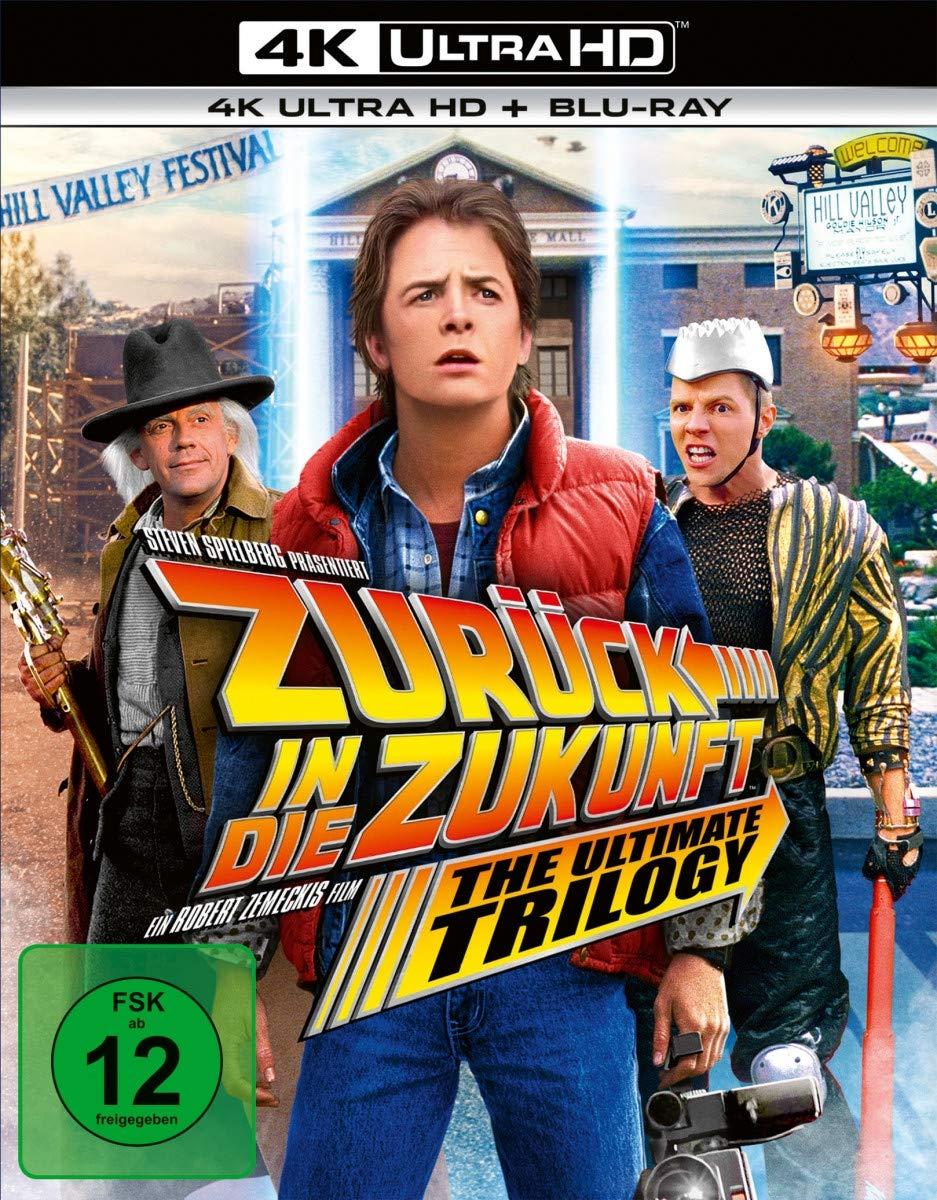 Zurück in die Zukunft - Trilogie 4K Ultra HD Blu-ray für 36,54€ ikl. Versand
