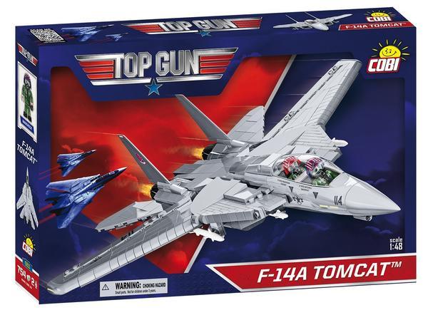 COBI 5811 - TOP GUN F-14 TOMCAT, 715 Bauteile 2 Figuren und viele weitere Sets (Bausteine)