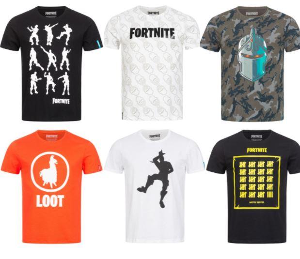 Fortnite Herren T-Shirts für 4,99€ / Stück + 3,95€ Versand