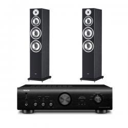 Denon PMA-720 AE Schwarz Elac FS 58.2 Schwarz für 799,00 € Vergleichspreis 1087,00€