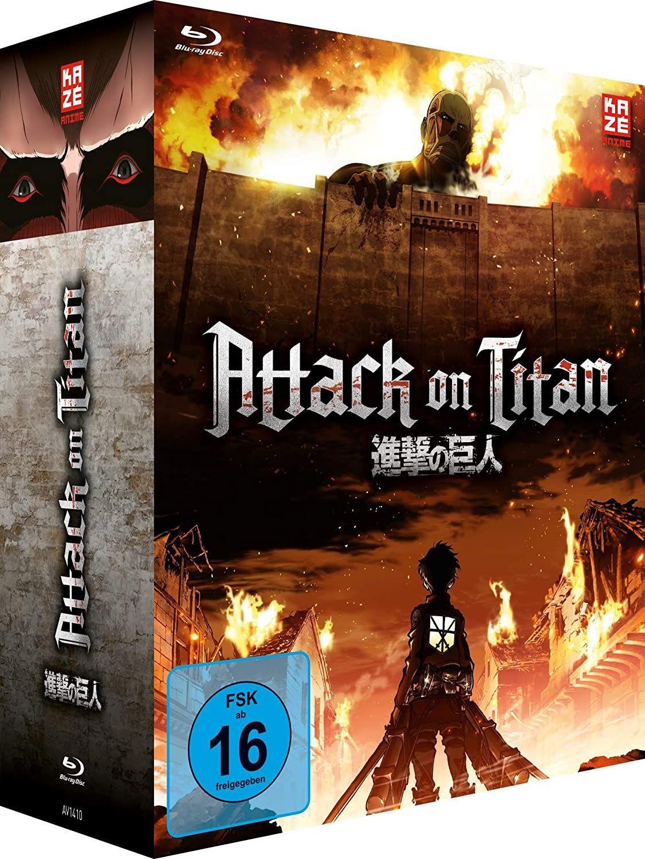 Attack on Titan - Staffel 1 (Komplettausgabe auf Bluray) *Amazon*