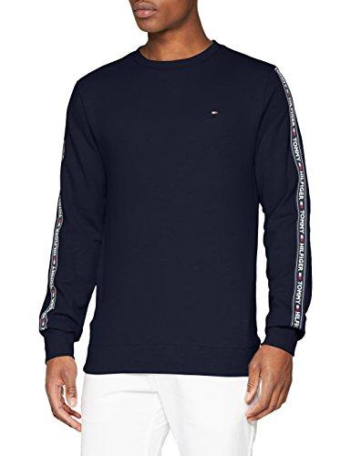[Amazon Prime] Tommy Hilfiger Herren Track Top Ls HWK Pullover/Sweatshirt in blau oder grau