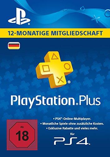 12 Monate PlayStation Plus für 37,65 Euro inkl. Versand