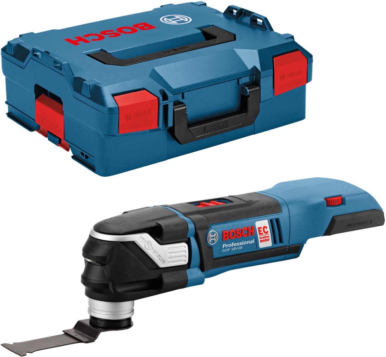 Bosch Professional Akku Multi-Cutter GOP 18V-28 in L-Boxx